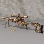 Heavy Sniper Rifle Gun