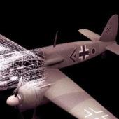 Aircraft Henschel Hs-129b Attack