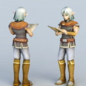 Character High Elf Scholar