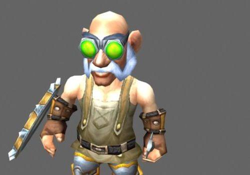 High Tinker Gelbin Mekkatorque Game Character