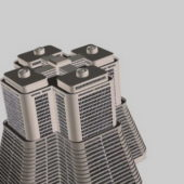 High-rise Hotel Building Complex Design