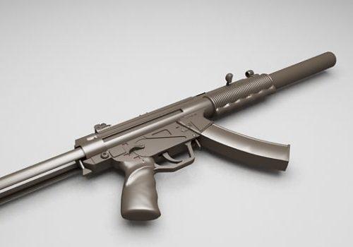 Military Hk-mp5 Submachine Gun