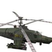 Army Hokum Ka50 Attack Helicopter