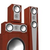Home Electronic Audio System Subwoofer