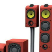 Home Electronic Stereo Speakers