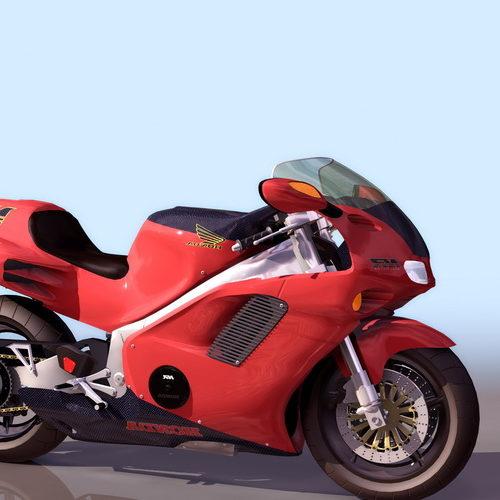 Motorcycle Honda Nr Racing