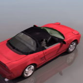 Red Honda Nsx Roadster Car