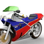 Racing Honda Vfr Sport Motorcycle