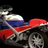 Motorcycle Honda Vfr750f