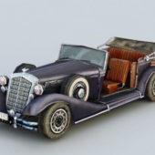 Vintage Design Horch Car