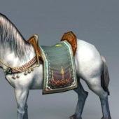 Horse Animated Rigged Animal