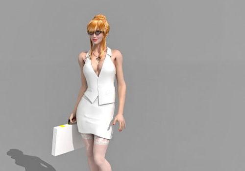 Character Sexy Secretary