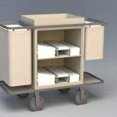 Hotel Furniture Housekeeping Cart