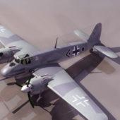 Hs129 German Ww2 Military Aircraft