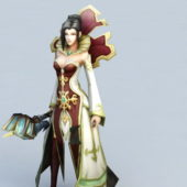 Game Character Human Female Priest
