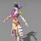 Game Character Female Sorceress