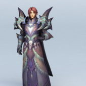 Human Character Male Warlock