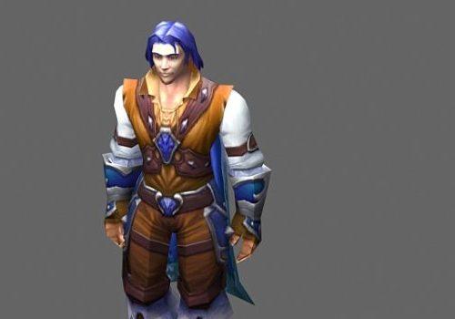 Human Prince Game Character