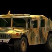 Military Hummer M1025 Armored Vehicle