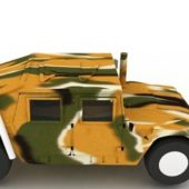 Military Camouflage Humvee