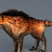 Wild Hyena Dog