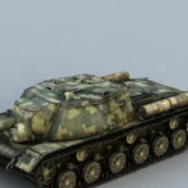 Is-152 Soviet Tank Destroyer
