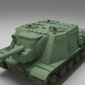 Isu152 Soviet Tank