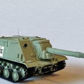 Soviet Isu-152 Tank Destroyer