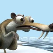 Ice Age Scrat Character