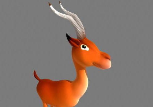 Impala Cartoon Animal