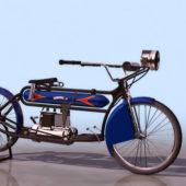 Vintage Indian 1911 Motorcycle