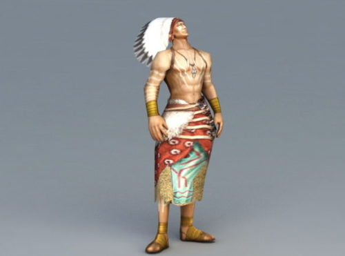 Character Indian Chief