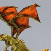 Inferno Drake Animal