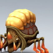 Wild Insect Monster Rigged