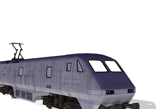 Intercity Train Vehicle