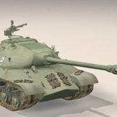 Russian Iosif Stalin Tank