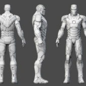 Iron Man Rigged Character