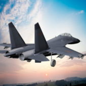 Chinese J-11 Jet Fighter Aircraft