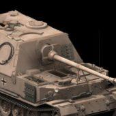 Military Jagdpanzer Tiger Tank Destroyer