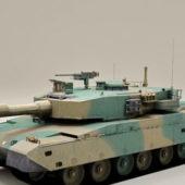 Japan Military Type 90 Tank