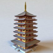 Japanese Ancient Pagoda