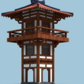 Wooden Japanese Pagoda