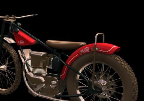 Jawa Historic Motorcycle