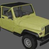 Jeep Wrangler Pickup Vehicle