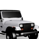 Jeep Wrangler Sahara Car Vehicle