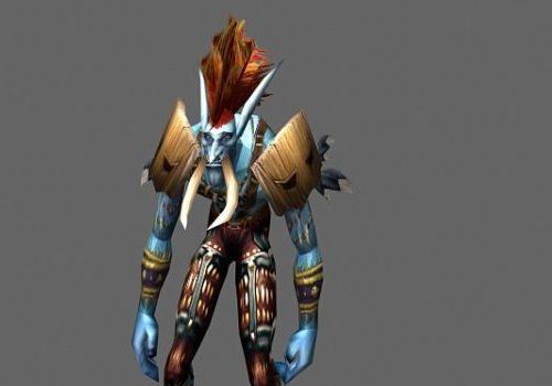 Jungle Troll Voljin Game Character