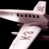 Military Junkers G 24 Passenger Aircraft