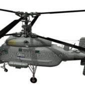 Military Helicopter K25a Anti Submarine