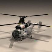 Soviet Ka27 Helicopter Helix