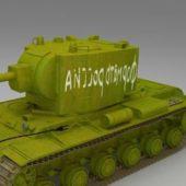 Soviet Kv-2 Heavy Artillery Tank